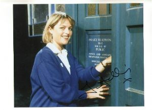 Janet Ellis from Blue Peter and Dr Who